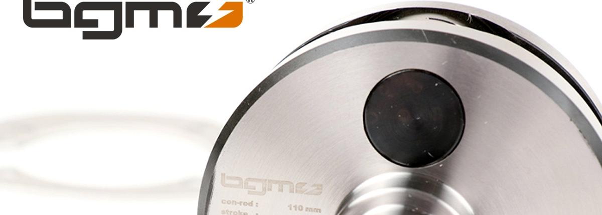 Lambretta Kurbelwelle -BGM Pro HP Competition 58mm Hub, 110mm Pleuel- Lambretta DL/GP 125cc, 175cc, 200cc, 225cc, 250cc bgm Pro Artikel-Nr.: BGM11058N