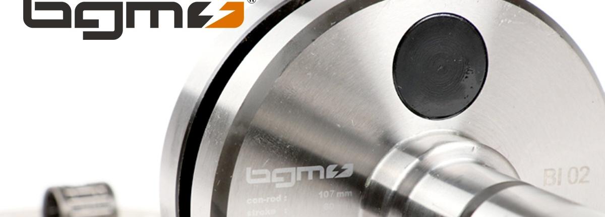 Lambretta Kurbelwelle -BGM Pro HP Competition 60mm Hub, 107mm Pleuel- Lambretta DL/GP 125cc, 175cc, 200cc, 225cc, 250cc bgm Pro Artikel-Nr.: BGM10760N
