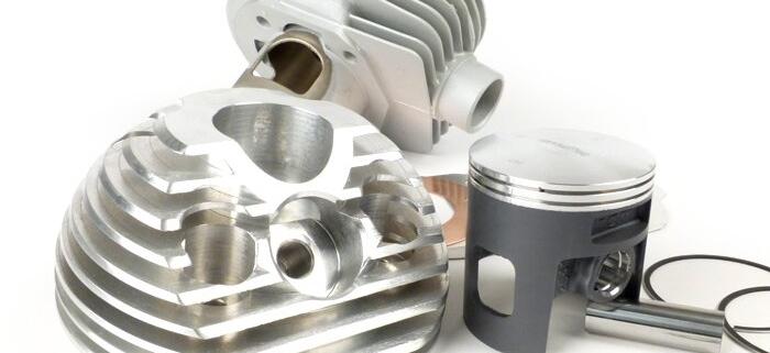 Zylinder -BGM PRO 177 / 187 ccm (Kolben made by Meteor)- Vespa PX125, PX150, Cosa125, Cosa150, GTR125, TS125, Sprint Veloce (VLB1T 0150001-)
