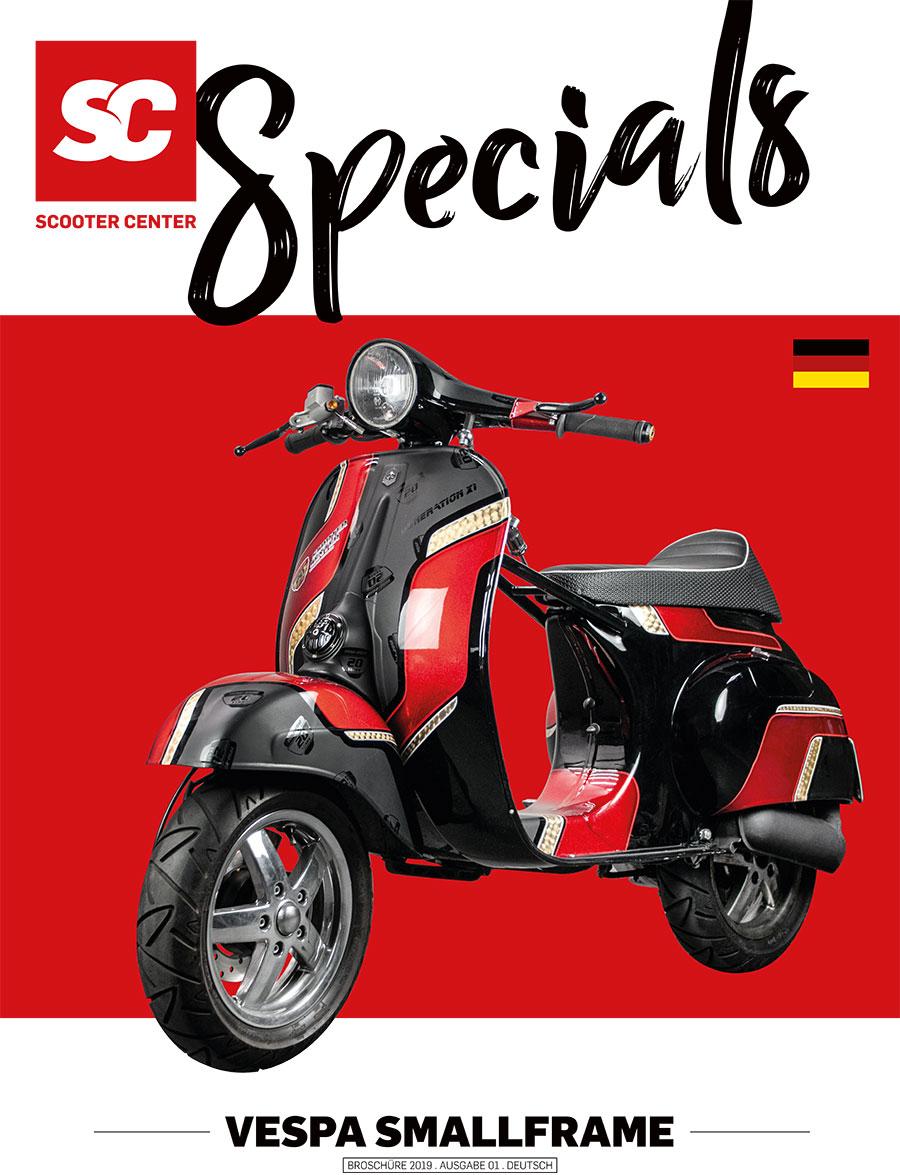 Vespa Smallframe Special Katalog Flyer 2019