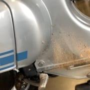bgm Soft Stop Hauptständer mit Sand