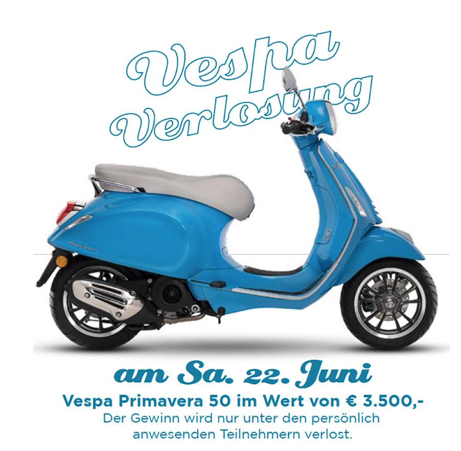 Vespa Verlpsung - Vespa zu Gewinnen