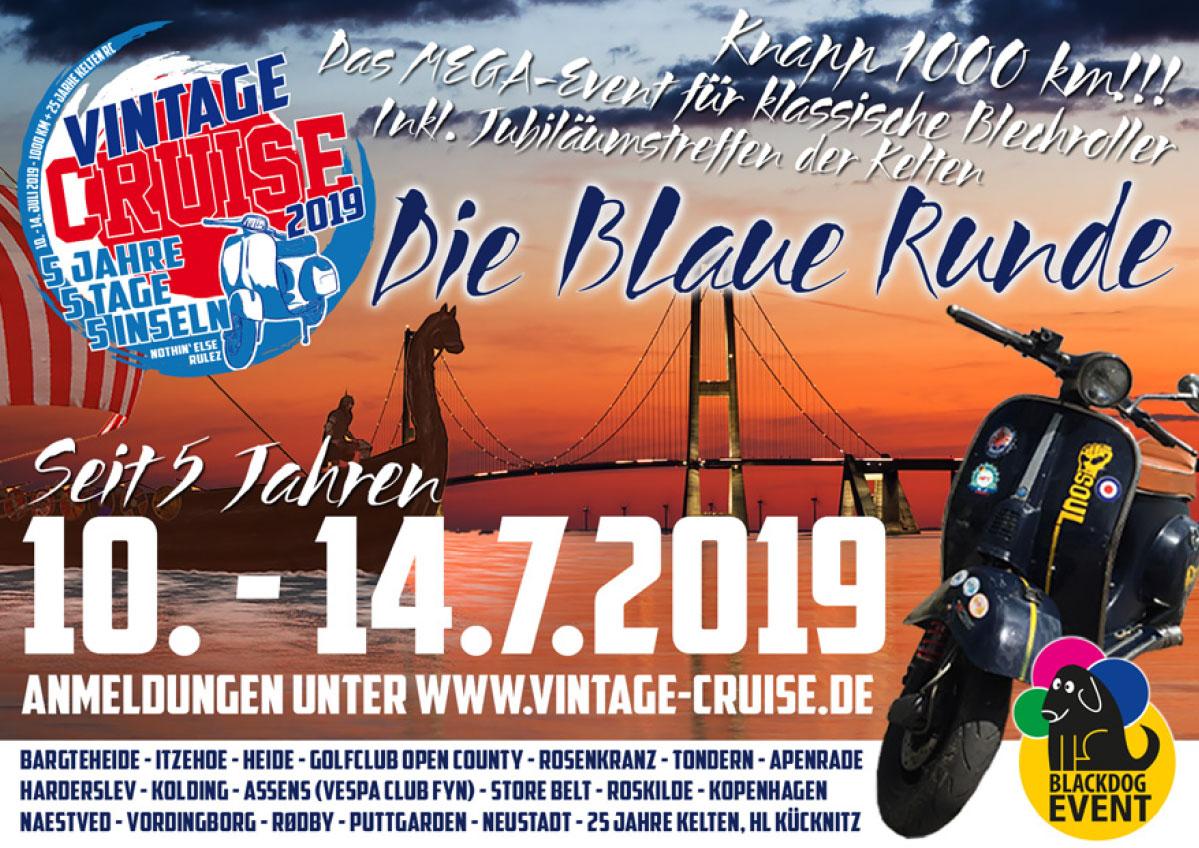 Vintage Cruise 5 2019 Vespa