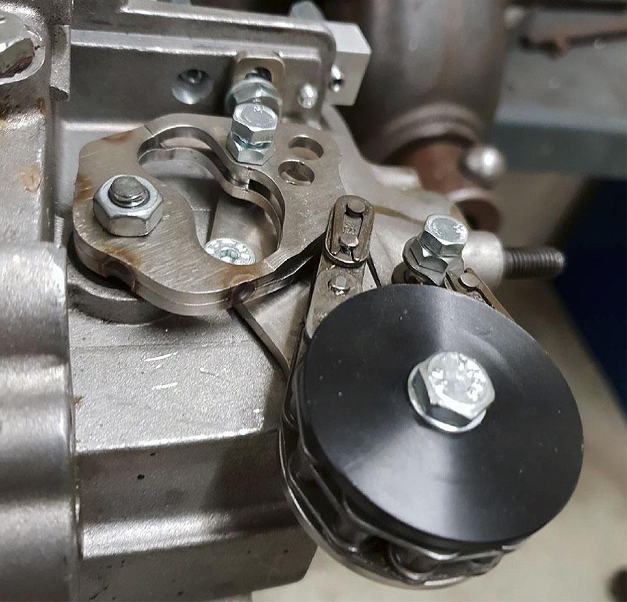 Vespa PK XL 2 Schaltung Umbaukit