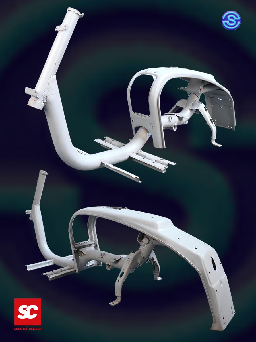 Lambretta Frame Rahmen -SIL- Lambretta  DL GP