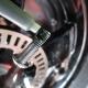 Das Speedwheel wird montiert und gesichert