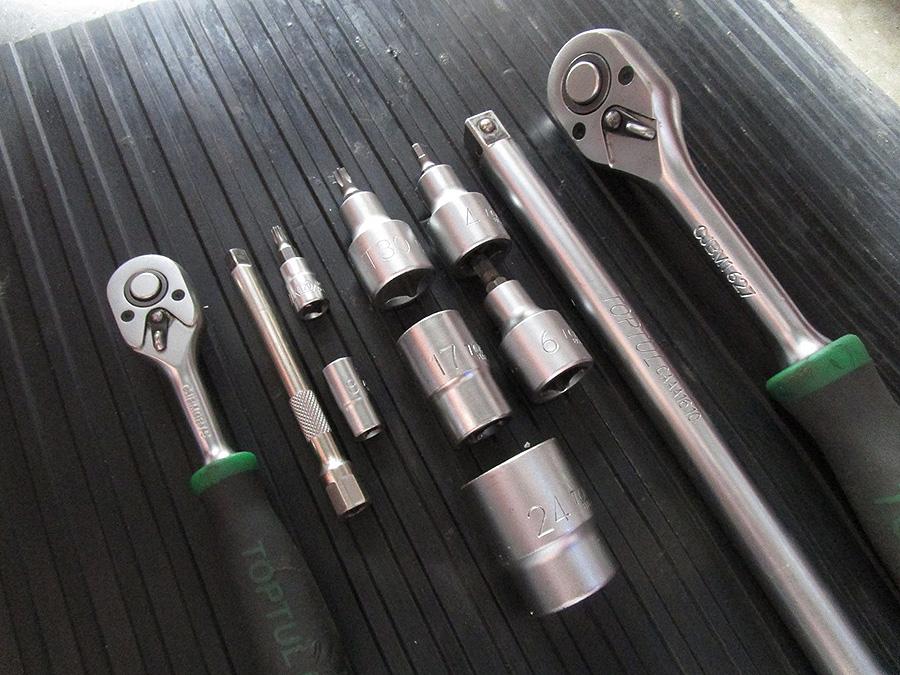 Werkzeug Montgage des KB Speedwheel Vespa GTS