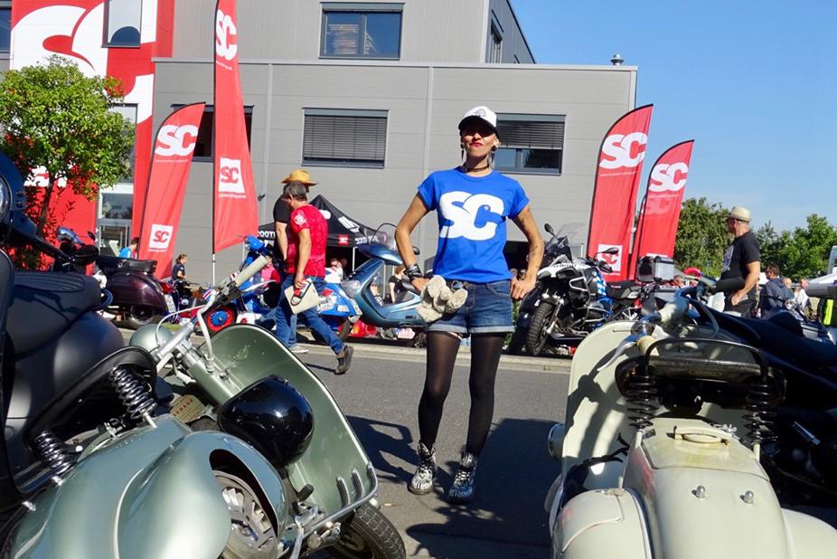 Maryzabel Classic Day Vespa Lambretta