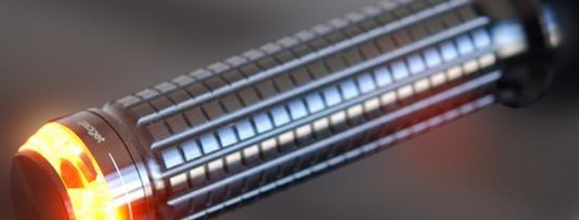 Lenker Blinker m-BLAZE Disc Blinker schwarz E-geprüft