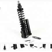 Stoßdämpfer vorne -BGM PRO SC/F16 COMPETITION, 240mm- Vespa GT 125-200, GTL 125-200, GTS 125-300 (-2013, 2017-), GTV 125-300 - schwarz