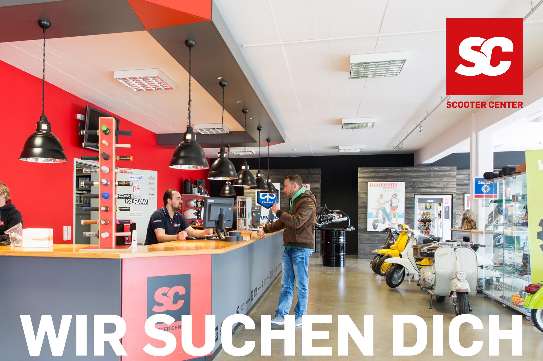 WIR SUCHEN DICH Mitarbeiter im Verkaufsinnendienst (W/M/D) für Ersatzteile & Zubehör klassische und moderne Motorroller