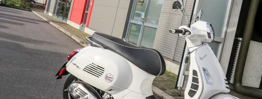 Vespa GTS 300 HPE Auspufftest