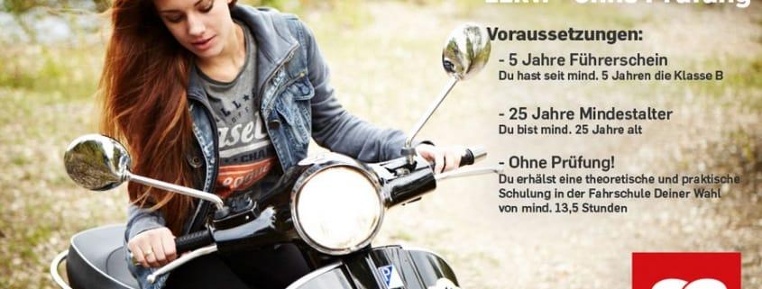 125er Roller Führerschein ohne Prüfung