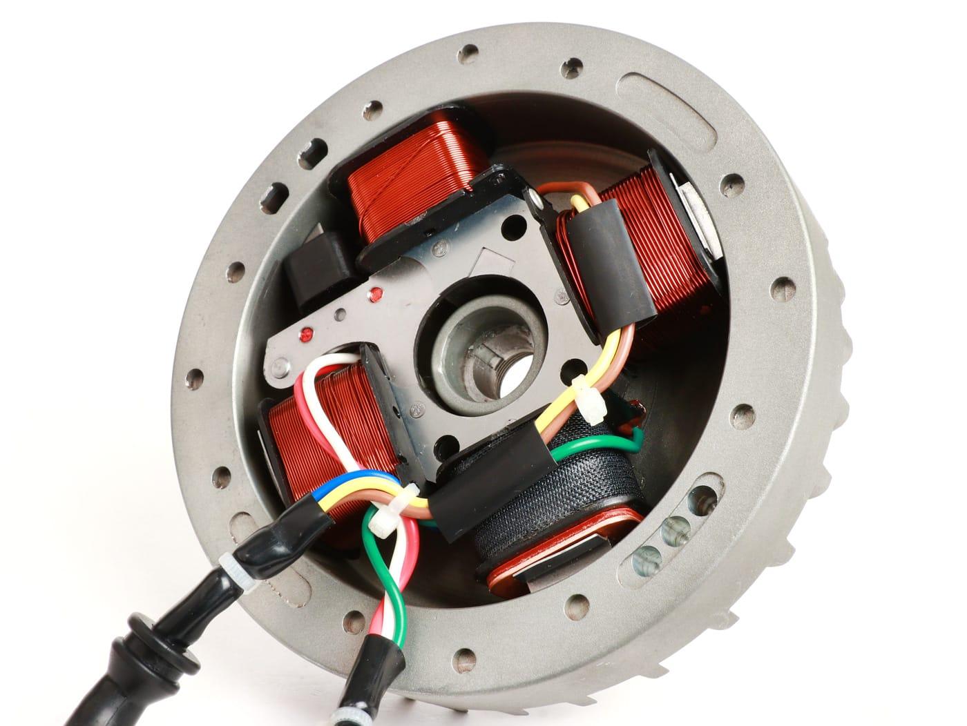 Zündung-Set -BGM Pro elektronisch- Vespa Ciao, SI - verwendbar mit Motorgehäuse Polini oder Malossibgm Pro Artikel-Nr.: BGM6666