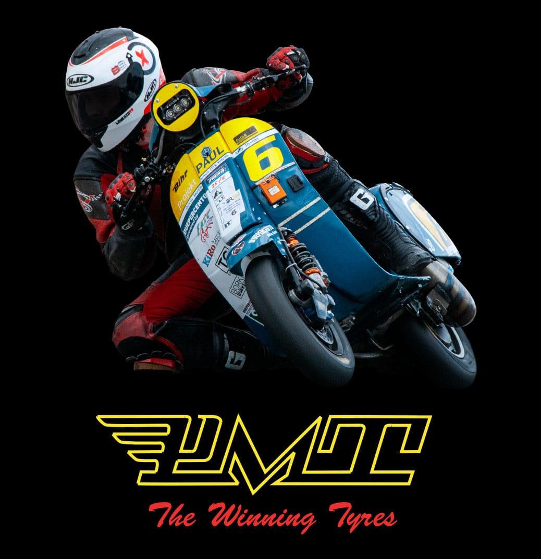 PMT Tyres Roller-Reifen für Rollerrennen