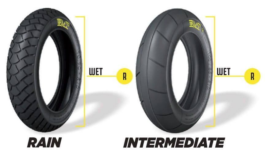 PMT Tyres Rain & Intermediate