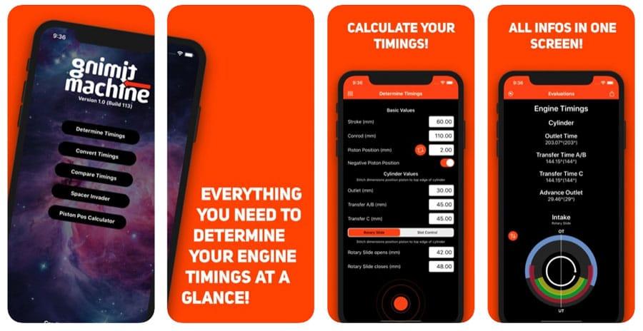 Steuerzeiten App fürs iPhone