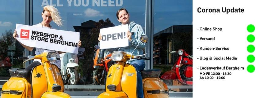 Scooter Center neue Öffnungszeiten