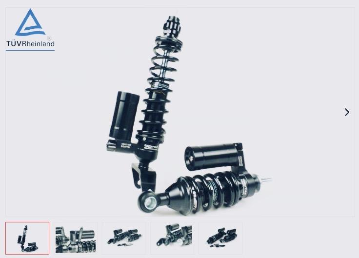 Stoßdämpfer-Set -BGM PRO SC COMPETITION- Vespa V50