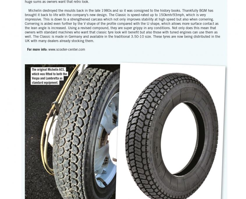 bgm Classic Reifen Michelin ACS