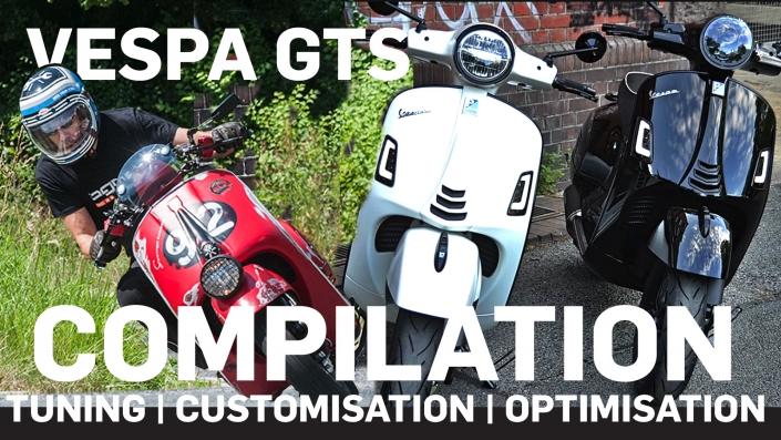 Vespa GTS Custom Umbau Tuning