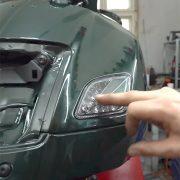 Vespa GTS Led Blinker mit Lauflicht