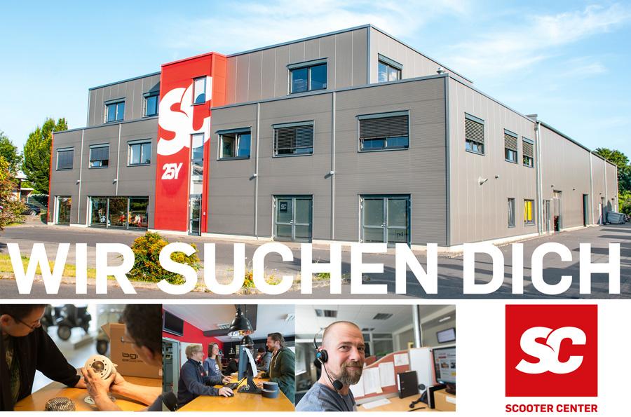 Stellenausschreibung Verkauf Köln Bergheim Brauweiler Pulheim Scooter Center