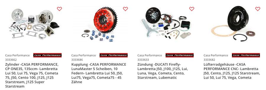 Casa Performance Lambretta LUI Tuning