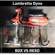Lambretta Auspuff Test Big Box Reso Rennauspuff