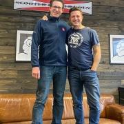 Ulf Schröder und Oliver Kluger Scooter Center