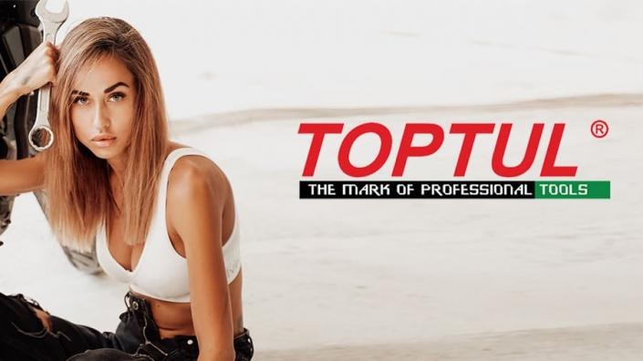 Nástroje Toptul pro řidiče skútrů - nástroje pro opravy a dílny skútrů