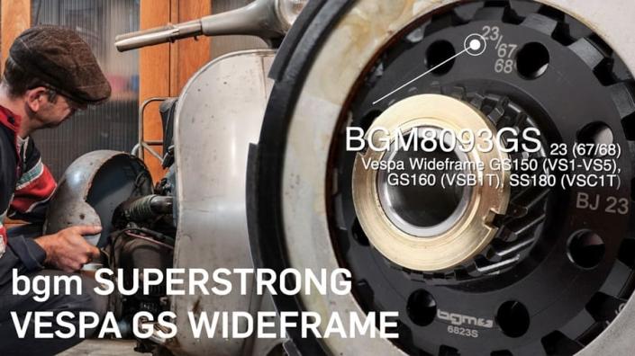 Vespa Wideframe Tuning