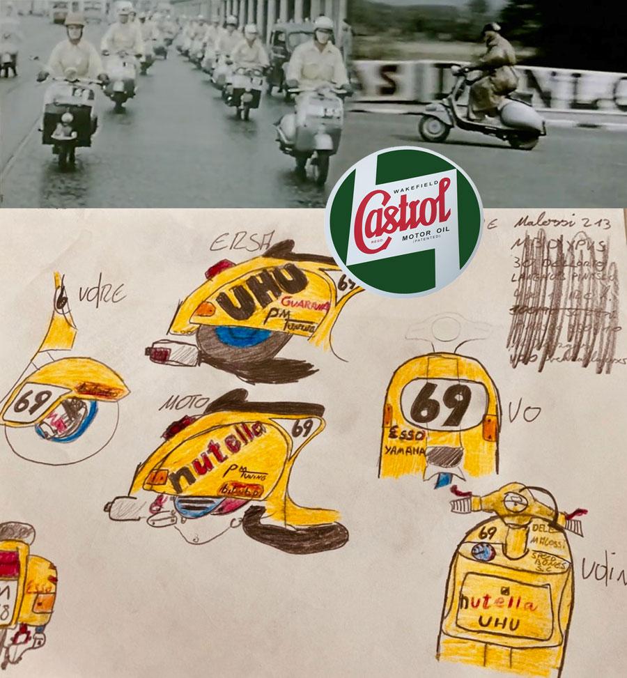 Classic Castrol Kollektion und peinliche Sponsoring Anfrage bei Castrol