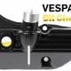 VESPA GTS 300 ÖLWANNE MIT SCHAUGLAS VESPA GTS VOR 2019 MIT EINFÜLLSTUTZEN