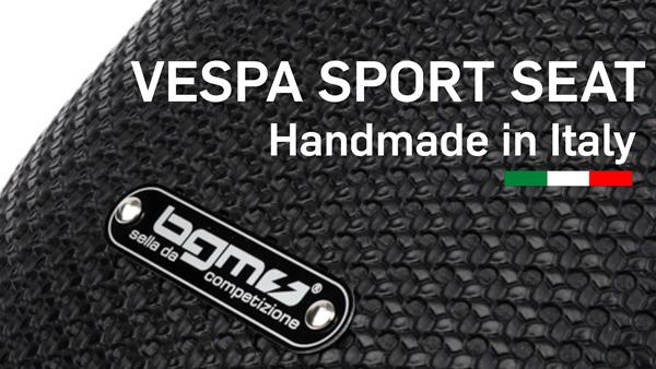 bgm PRO Sport Sitzbank Vespa Sportsitzbank