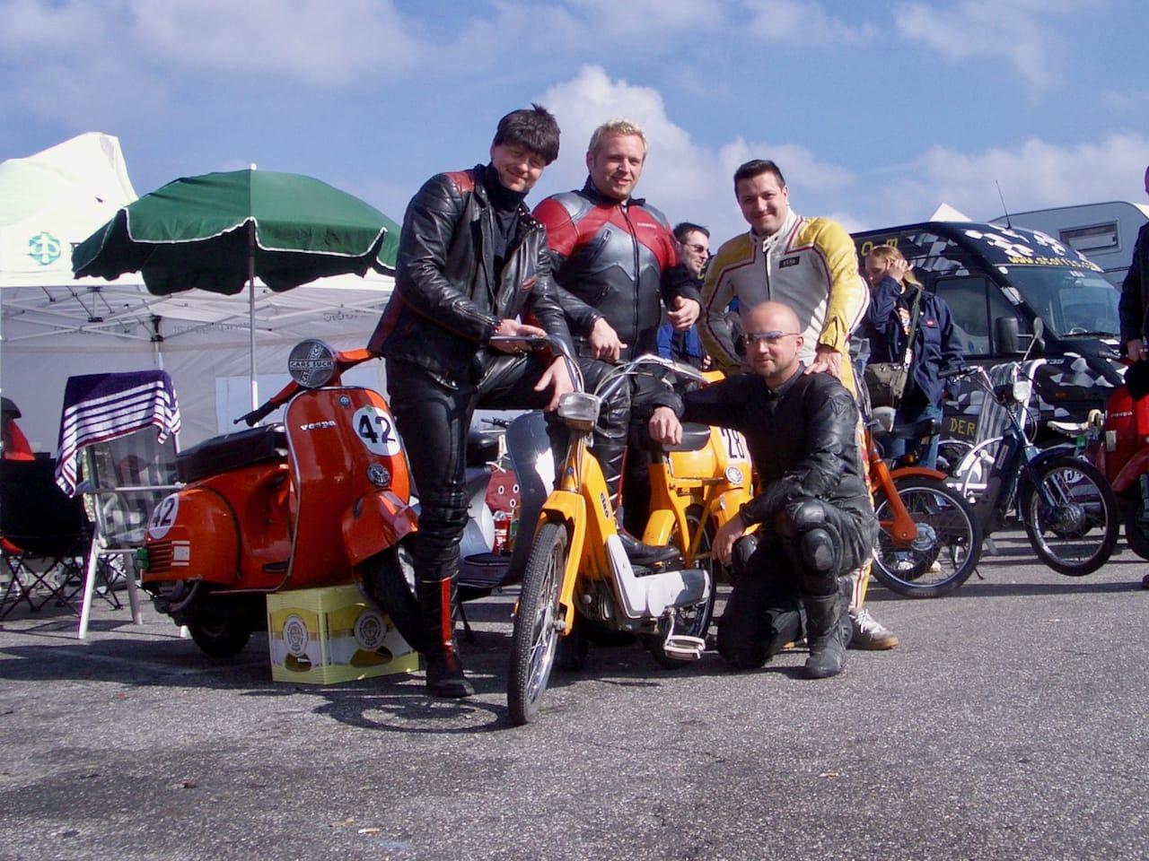 Rollerrennen auf dem Nürburgring 2004