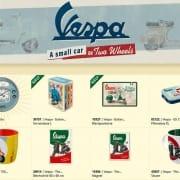Nostalgic Art Vespa Deco Merchandise und Geschenke 2021