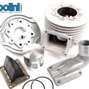 Zylinder -POLINI Aluminium 152ccm (Ø60mm) Evolution Membran (54mm Hub)- Vespa PV125, ET3 125, PK125 - Kurbelwelle P2100070 wird benötigt