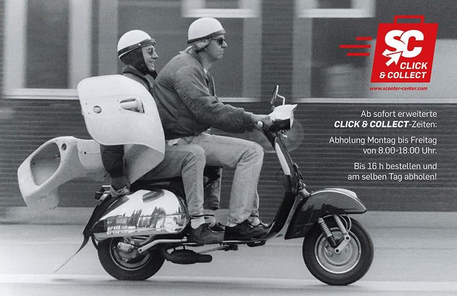 Scooter Center Click & Collect Öffnungszeiten