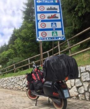 Vespa is coming home – Markus in Italien