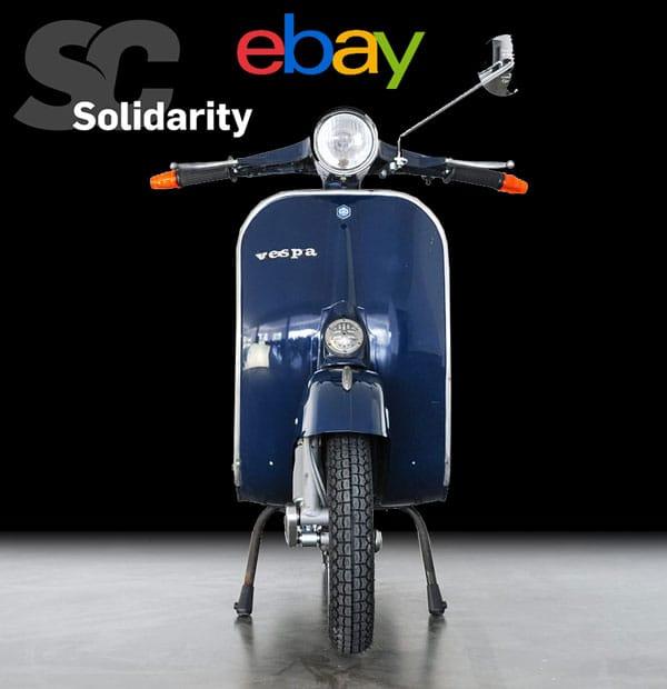 Vespa Primavera 125 ET3 bei Ebay