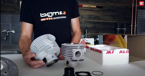 Malossi Zylinder 2021 MK2 Vespa PX 200