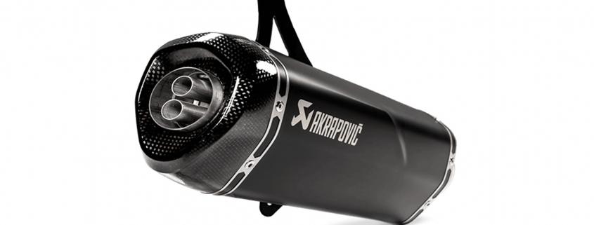 Akrapovic Euro5 Vespa GTS