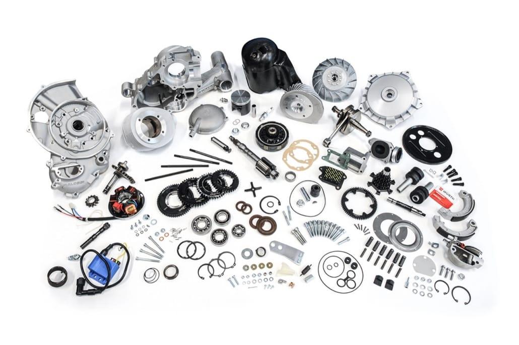 Quattrini Vespa Motor - Alle Teile