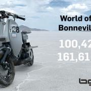 Lambretta 100mph Bonneville World of Speed Record