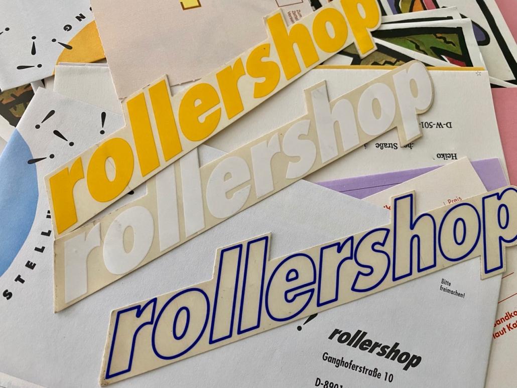Rollershop Sticker
