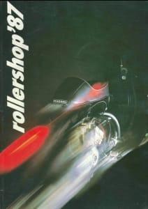 ROLLERSHOP Vespa Katalog 1987
