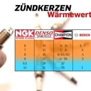 Zündkerze Wärmewert Tabelle Vergleich