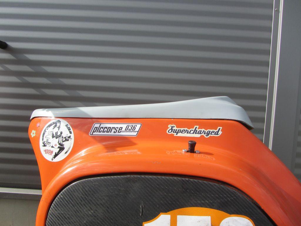 PLC Corse Sitzbanktank Vespa PK