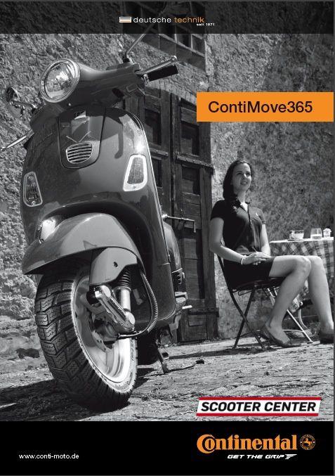 ContiMove365 Neuer Roller Winterreifen von Continental